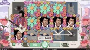 Jimi Hendrix Slot Screenshot