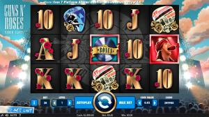 Guns N' Roses Slot Screenshot