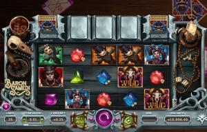 Baron Samedi Slot Screenshot