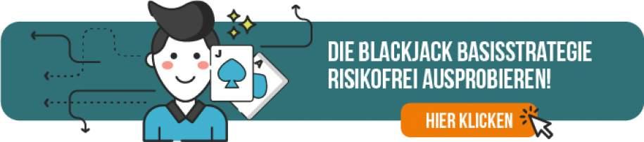 Die Blackjack Basisstrategie risikofrei ausprobieren!