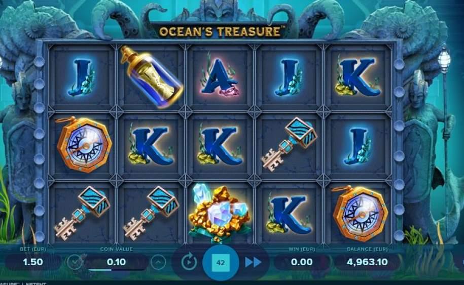 Oceans Treasure Gameplay